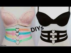 2 Sexy Harness DIYs:DIY Multicolor Pastel Heart Harness Corset+DIY Gothic Heart Harness Corset - YouTube