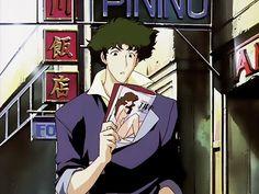 Cowboy Bebop   Spike Spiegel   Shinichiro Watanabe   Anime   Screenshot   SailorMeowMeow