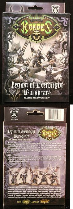 Hordes 168255: Hordes Legion Of Everblight Warspears (Pip73041) New -> BUY IT NOW ONLY: $38 on eBay!