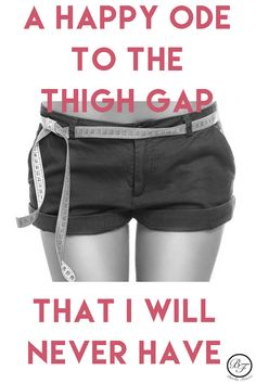 "The controversy over what a woman's body should look like has been front and center lately. Since our entire business is about getting people to their body and health goals, we wanted to weigh in on the issues — starting with ""thigh gaps"". We have a feeling you'll really love our ""Ode to the Thigh Gap I'll Never Have"". We'd love to hear where you land on this topic too! Leave a comment and let us know! #thighgap #thinspiration #fitfam #crossfit #legworkout #skinnylegs #skinny #healthy #kylie"