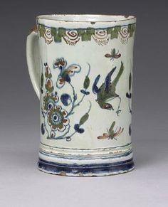 London polychrome mug 1725-45