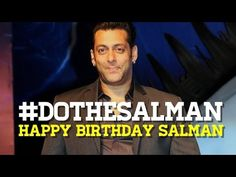 Why do it any other way, when you can DO THE SALMAN!! For a man who has everything, on his birthday, we gift him this song (because we ran out of wrapping pa...