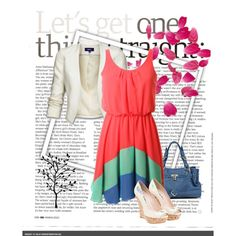spring, created by laurenhayworth on Polyvore