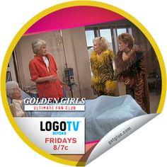 Steffie Doll's Golden Girls: Ultimate Fan Club - Best Song & Dance Episodes Sticker | GetGlue