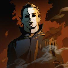 Halloween Countdown #2: Michael Myers by Mikuloctopus.deviantart.com on @deviantART