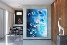 Large Painting on Canvas,Original Painting on Canvas,canvas custom art,canvas wall art,original painting,texture wall art FY0050