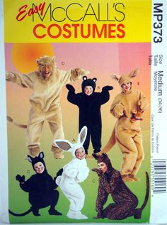 Adults' Size Medium Costumes McCall's Costumes by NeedANeedle