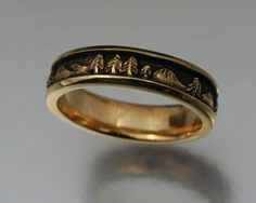 A Mountain Bride: nature rings