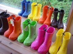 Cloca Colorful Boots