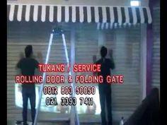 tukang servis rolling door folding gate panggilan kebagusan pasar minggu...