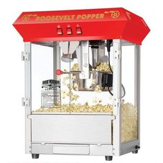 Hot and Fresh Countertop Style Popcorn Popper Machine-Makes Approx. 3 Gallons Per Batch- by Superior Popcorn Company- oz. Kettle Popcorn, Popcorn Cart, Best Popcorn Maker, Popcorn Supplies, Hot Air Popcorn Popper, Great Northern Popcorn, Popcorn Company, Microwave Popcorn, Specialty Appliances