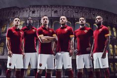 Francesco Totti, Daniele De Rossi, Gervinho, Mattia Destro e Alessandro Florenzi