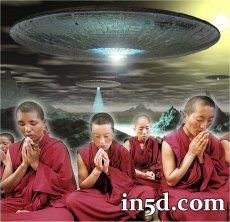 Remote Viewing Monks See 2012 ET Intervention   in5d.com wow