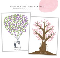 finger print guest book