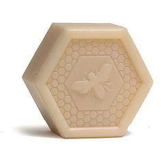Pre de Provence French Bee Hexagon Honey Soap - Pollen - 3.5 oz.