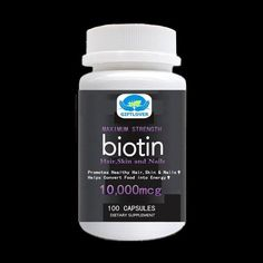 Biotin High Potency Per Serv. For better absorption,Supports Hair Growth,Glowing Skin and Strong Nails - Biotin Hair Growth, Strong Nails, Grow Hair, Glowing Skin, Healthy Hair, Herbs, Growth Supplements, Bottle, Beauty
