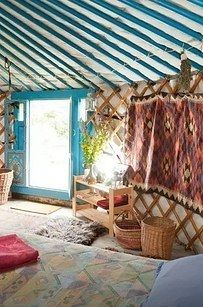 14. And this British yurt, too: | 17 Enchanting Yurts You'll Definitely Want To Stay In
