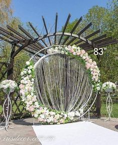 Circle wedding arch m, Round wedding backdrop, Metallic wedding stand, Ceremony arch Moon, Floral arch - designed to multiple use Arco Floral, Floral Arch, Ceremony Arch, Outdoor Ceremony, Round Arch, Metal Arch, Geometric Wedding, Wedding Venues, Arch Wedding