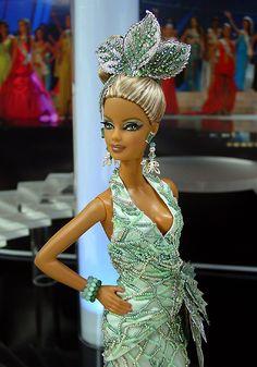 OOAK Barbie NiniMomo's Miss Mallorca 2010
