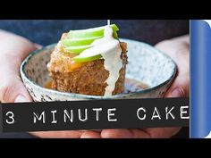(6) 3 minute Caramel Apple and Bran Flakes Cake #ad - YouTube