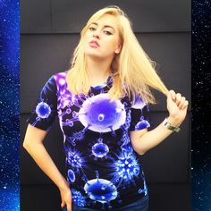Bacteria Collection Tee Disease Violet Blue