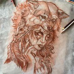 Art Tendencies • Эскизы тату • Иллюстрации