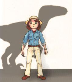 "Le Cosplay Game : Alan Grant dans ""Jurassic Park"""