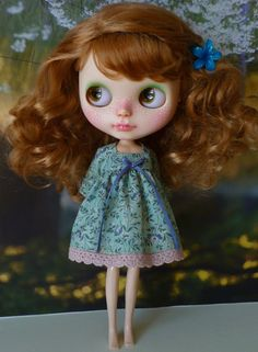 Forever dress for Blythe by PamsPrettyDesigns on Etsy