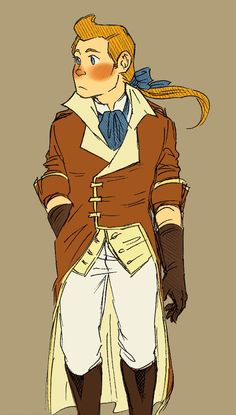 Tintin in 18th century period dress ... *swoons*