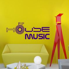 Wall Decals Sign House Music Vinil Record Electro Live Band Music Recording Studio Bedroom Vinyl Sticker Wall Decor Murals Wall Decal: Amazon.co.uk: Kitchen & Home Wall Decor Stickers, Decals, Music Recording Studio, Recorder Music, Live Band, Music Wall, Small Studio, Learning Spaces, Home Signs
