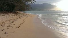 Kuai beach on north shore