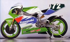 Kawasaki X-09  The stunning X-09 250cc 2 stroke GP motorcycle was brought to Daytona in 1992, taking almost everyone by surprise- Kawasaki had been gone... - Robert Keeling - Google+