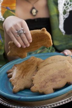 Marranitos / Cochinos / Puerquitos (Mexican Pig-Shaped Cookies) Recipe. (Includes pictures of beautiful costumes and makeup to honor Dia De Los Muertos.)