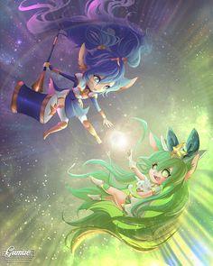 Poppy and Lulu Star Guardians