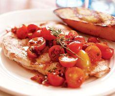Grilled Chicken Breasts with Sun-Dried & Fresh Tomato Salsa Recipe