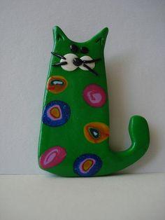Fimo Cats!!