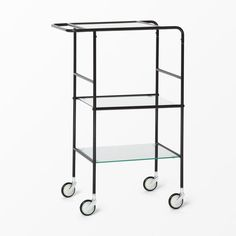 Serveringsvagn i glas och metall - Bord- Köp online på åhlens.se! Kitchen Cart, Wardrobe Rack, Home Accessories, Chrome, New Homes, Interior, Furniture, Hem, Home Decor