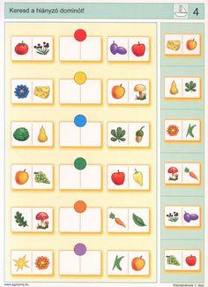 Hvad skal være i midten? Fun Worksheets For Kids, Math For Kids, Preschool Worksheets, Preschool Math, Kindergarten Activities, Learning Activities, Visual Perception Activities, Sequencing Cards, School Posters