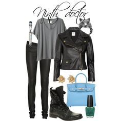 """""""Ninth doctor"""" by fangirlfashion on Polyvore"""
