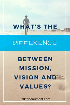 What's the difference between mission, vision, and values? Find out how. Mission Vision, Corporate Communication, Writing Words, Lausanne, Starting Your Own Business, Copywriting, Branding, How To Plan, Entrepreneur