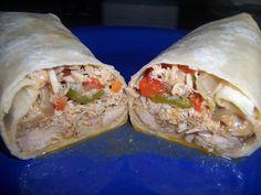 Shredded Chicken Burrito Recipe - Authentic Mexican Style