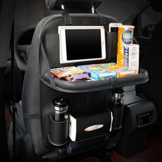 Check out our new product: Deluxe Backseat O....  Click here for more info: http://easierlifeproducts.com/products/deluxe-backseat-organizer-with-foldable-tray?utm_campaign=social_autopilot&utm_source=pin&utm_medium=pin