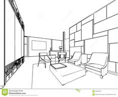 Image result for three dimensional view of interior design
