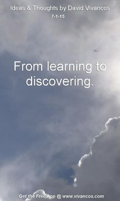 July 1st 2015 From learning to discovering. https://youtu.be/TFBeOoSOHbs