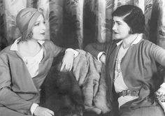 Ina Claire und Gabrielle Chanel in Hollywood-1931