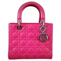 Pre-owned Dior Lady Dior Leather Tote (€1.265) ❤ liked on Polyvore featuring bags, handbags, tote bags, pink, pink purse, genuine leather tote, pink leather purse, genuine leather tote bags and handbags totes