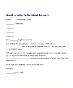 Break up letters to a boyfriend are written by those girls who no