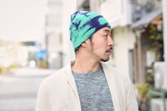 Dope AF beanie made from 100% Cotton #mensfashion #mensbeanie #tie-dye #dope #cool #mens #fashion #beanie #japanesebeanie