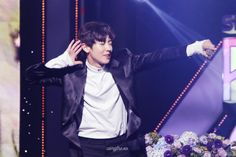 Chanyeol - 161101 SBS Power FM 20th Anniversary Concert Credit: CampFire_xo. (SBS 파워FM 20주년 콘서트)