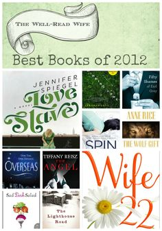 Best Books of 2012, per the Well-Read Wife.  I should look into these